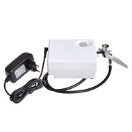 allnew405 Multi-Purpose Airbrush with Portable Mini Air Compressor Kit for Art Painting Makeup Manicure Craft Cake Spray
