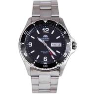 BNIB Orient Automatic Black Mako II Bracelet AA02001B Man Watch
