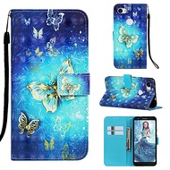 case for google google pixel 3a / google pixel 3a xl magnetic / with stand / shockproof full body cases cartoon / butterfly hard pu leather for google pixel 3 / google pixel 3 xl / google pixel 3a xl