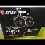 全新香港行貨 MSI GTX 1660 Super 1660S 顯示卡