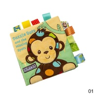 Baby Soft Cloth Books Infant Animal Books Baby Story Book Early Educational Rattle Toys For Newborn Baby