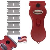 Werxrite RetraGuard Razor Blade Scraper Induction Hob Glass Cooktop Stovetop & Other Hard Surface Cleaning Scraper