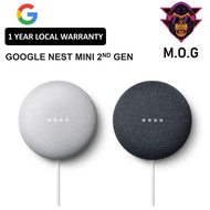 Google Nest Mini 2nd Generation (1 Year Warranty)
