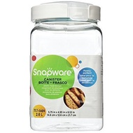★FREE SHIPPING★Snapware Square-Grip Canister, 11.1 cups/ 2.6 liters