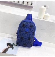 Adidas_Chest Pouch Shoulder Sling Bag ISSEY 3d Miyake_bag Men/Women Fashion PU leather shoulder bag leisure bag sports bag messenger bag