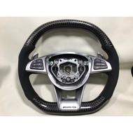BENZ AMG 碳縴維方向盤 變形蟲方向盤 W204 w205 C200 GLC GLA CLA E300 全車系