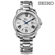 Seiko Premier Roman Solar Women Watch Sut 321 J 1 - Silver/32 mm