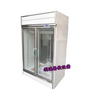 《利通餐飲設備》瑞興 四片門玻璃展示冰箱 前後開展示冰箱 冷藏展示冰箱