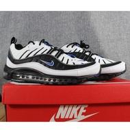 【NBA籃球鞋】 Nike Air Max 98 黑白 黑藍 3M 反光 黑灰 640744-108 鋼彈 全氣墊 男