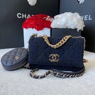 New chanel woc19 with coin purse tweed holo28