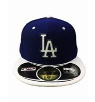 MLB NEW ERA Fitted Cap [5331324-008] 男款 大聯盟 洛杉磯 道奇 選手 棒球帽 深藍