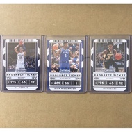 Ja Morant and Zion Williamson RC lot (3cards)
