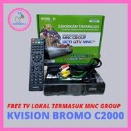 K VISION RECEIVER PARABOLA BROMO C2000