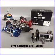 รอกเบท วีว่า VIVA BAITCAST REEL VB60 ด่วน ของมีจำนวนจำกัด