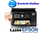 [FAST DELIVERY] Epson EcoTank L4260 A4 Wi-Fi Duplex All-in-One Ink Tank Printer l4260 4260 Replacement for L4160 4160