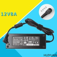 huiyuan適用於台達12V8A電源適配器12V通用電源 12V5A 12V7A 6A htpc 監控變壓器