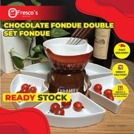 Chocolate Fondue Double Set Fondue