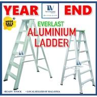 5/7/9/12 Steps Hardness Aluminium Single Sided Ladder Everlast