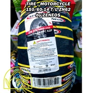 MOTORCYCLE TIRE 80 80 14 , 90 80 14 , 100 80 14 , 120 70 14 , 110 70  150 60 14 ZENEOS ZN62 TUBELESS