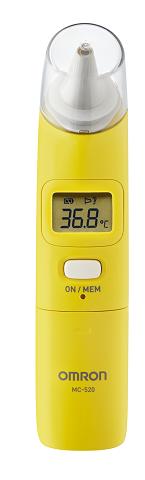 (內有驚爆優惠) 專品藥局 omron歐姆龍紅外線耳溫槍 MC-520【2010077】