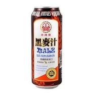 崇德發 易開罐黑麥汁500ML*6瓶