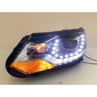 福斯 Tiguan U型 LED 12-16 大燈