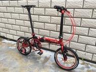 🧨 (In stock) DAHON K3 Folding Bike 16 Inch Litepro Accessories KENDA Accessories High-end M
