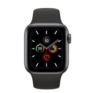 Apple Watch Series 5(GPS) 40mm太空灰鋁金屬錶殼+黑色運動錶帶