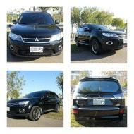 自售2012年出廠、領牌,OUTLANDER,2WD黑色天窗頂級版之太后用車。非CRV.RV4.XC90.X5