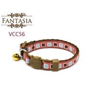 【VCC56】成貓安全項圈(S) 安全插扣 防勒 貓項圈 鈴鐺 范特西亞 Fantasia