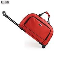 Johnn กระเป๋าเดินทางกระเป๋ารถเข็นผู้หญิงความจุมากกระเป๋ารถเข็นกระเป๋าเดินทางกระเป๋าทรงสี่เหลี่ยมมีหูหิ้วสะพายไหล่ TOW กระเป๋ากระเป๋าเดินทางชาย [คลังสินค้าพร้อม-คุณภาพสูง]