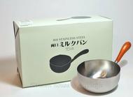日本 工房アイザワ 不鏽鋼 單手鍋/牛奶鍋 15cm《18-8霧面不鏽鋼 》 ★ 日本製 ★ Zakka'fe