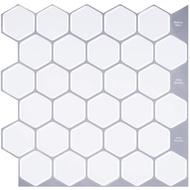 Peel And Stick Kitchen Backsplash Tiles,Paste Wall Tiles,Decorative Tiles For Kitchen Or Bathroom Peel,3D Wall Tile 5Pcs