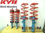 MS改避震《 短彈簧+日本NEW SR KYB藍筒避震 NEW WISH專用 》