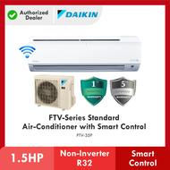 [ WIFI ] DAIKIN 1.5HP FTV Series Standard Non-Inverter Air Conditioner R32 Gas FTV35P Aircond Penghawa Dingin 冷气机