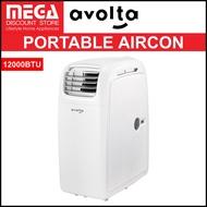 AVOLTA A015A-12C 4-IN-1 PORTABLE AIRCON (12000BTU)