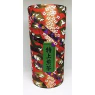 日本 特上 煎茶 茶道 泡茶 品茶 茶葉 櫻花 彩繪 花繪 茶葉罐 收納罐