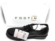 รองเท้า Footin คัชชูหนัง ผูกเชือก สีดำ 851-6966