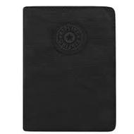 KIPLING 波紋護照夾-黑色