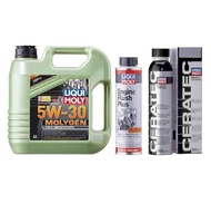 Liqui Moly Molygen 5w30 Ceratec Engine Flush Package