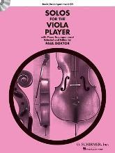Solos For The Viola Player - Book/CD