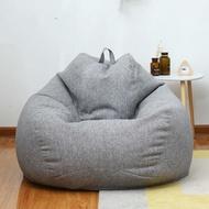 Cotton Single Small Sofa Tatami Comfortable Sofa Bean Bag Creative Balcony Lazy Sofa Bean Bag