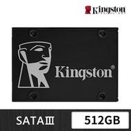 【Kingston 金士頓】KC600 SATA-3 512GB SSD 固態硬碟(SKC600/512G)