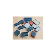 O-3045、O-3045D新力牌迴墨印章水性印台、每個售價:65元、顏色:紅、藍、黑、紫、綠【台南禾昇刻印】