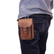 """Fesyen Lelaki Wanita Sukan Pinggang Pek BEG กระเป๋าถือ, PU Kulit Ponsel ด้านข้าง Pinggang Pinggang dengan Hook Carabiner (3.9 """"× 6.3"""")"""