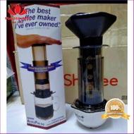 จัดส่งฟรี เครื่องทำกาแฟ Aeropress สำหรับทำกาแฟสด จัดส่งพรุ่งนี้