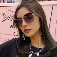 新款DIOR眼鏡同款大方框小臉眼鏡 平光眼鏡 方形眼鏡 金屬鏡框眼鏡 復古眼鏡 光學眼鏡 女生眼鏡 精品眼鏡