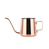 L-BEANS Stainless Steel Long Narrow Spout Coffee Pot with Hanging Ear Hand Blunt Pour over Gooseneck Kettle for Coffee Tea