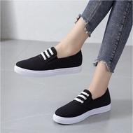 รองเท้าสลิปออน รองเท้าคัชชู รองเท้าผู้หญิงน่ารักสบายใหม่รองเท้าลำลองรองเท้าออกซ์ฟอร์ด *SOUTHEAST*