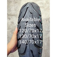 110/70x17, 120/70x17, 130/70, and 140/70x17 Tubeless 6 ply Rudder Tire